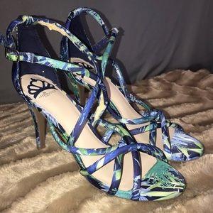Fergalicious heeled Sandals